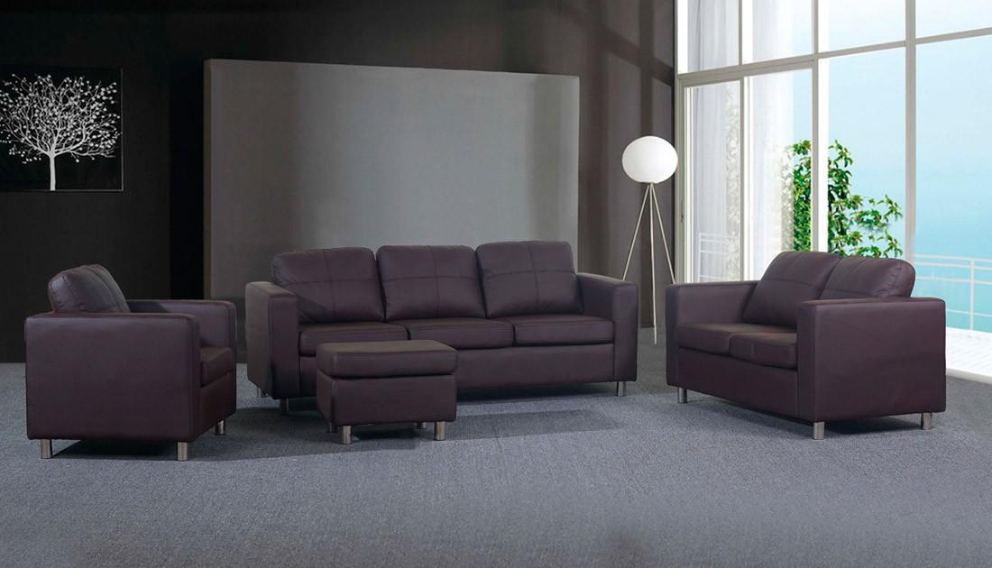 sede na garnitura chief 3 2 1 tabure. Black Bedroom Furniture Sets. Home Design Ideas