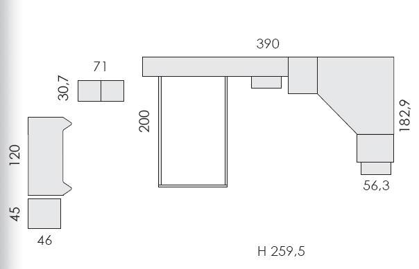 Tloris otroške sobe Eresem Volo