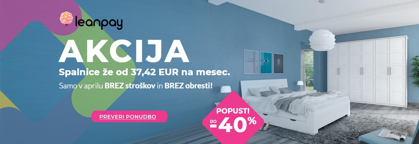 Spalnice že za 37,42 €