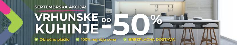 Akcija kuhinje -50%