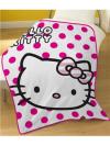 "Otroška odeja Hello Kitty ""Candy Spot"""