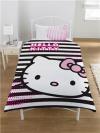 """Otroška posteljnina Hello Kitty """"Graphic Kitty"""" Single"""