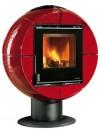 Kaminska peč La Nordica FIREBALL (več barv)-Rdeča