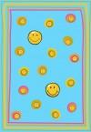 Preproga SITAP Smiley 8901 Blue (dimenzije: 100x150 in 140x200)