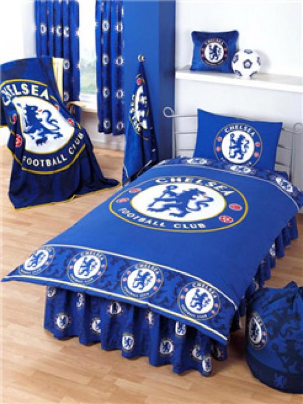 "Nogometna posteljnina FC Chelsea ""Tonal Border Single Duvet"""
