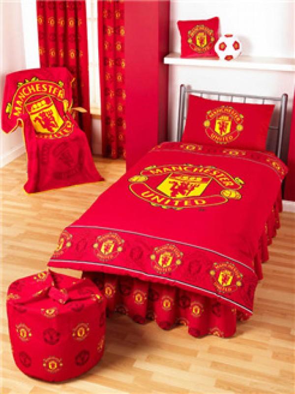 """Nogometna posteljnina FC Manchester United """"Crest Single Duvet"""""""