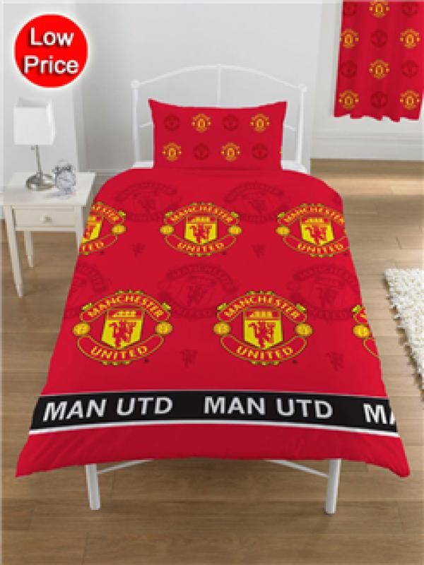 "Nogometna posteljnina FC Manchester United ""Devils Single Duvet"""