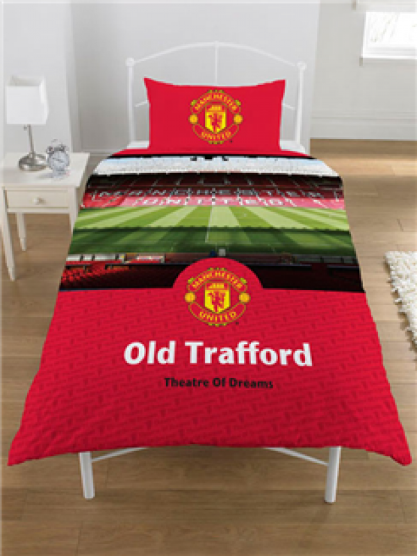 "Nogometna posteljnina FC Manchester United ""Stadium Single Duvet"""