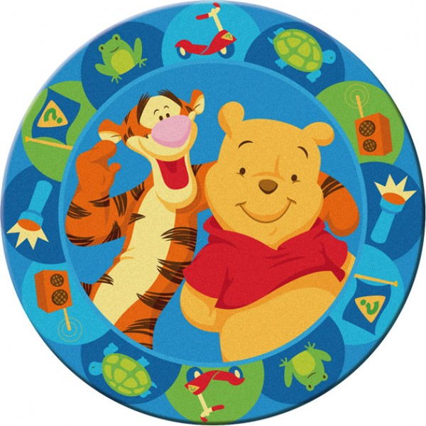 Okrogla otroška preproga Disney 508 (premer: 150 cm)