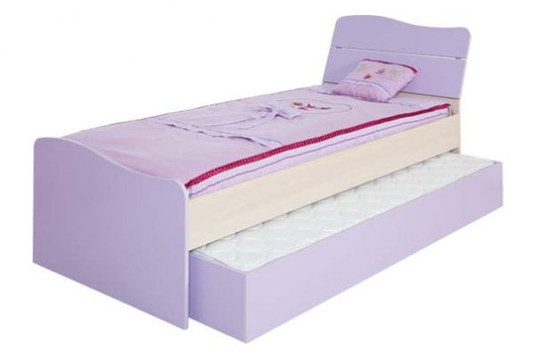 Otroška postelja Lila s pomožno izvlečno posteljo