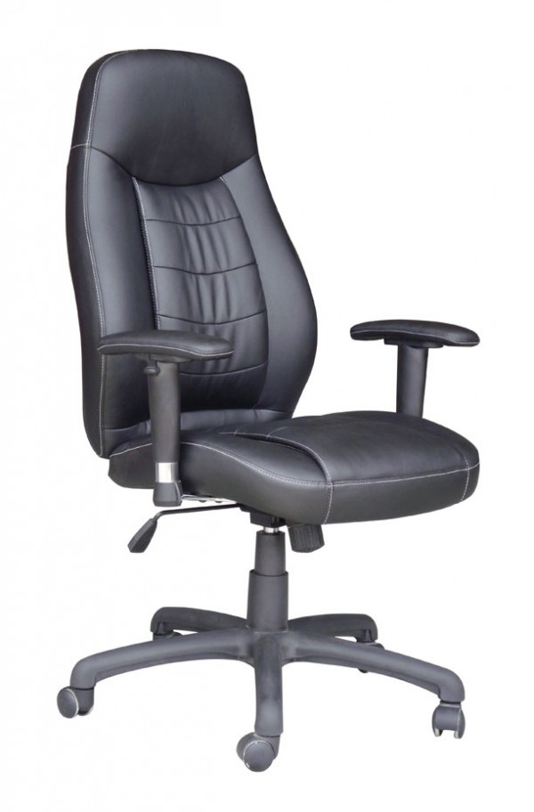 Pisarniški stol K-8891C (črno ali bež umetno usnje)