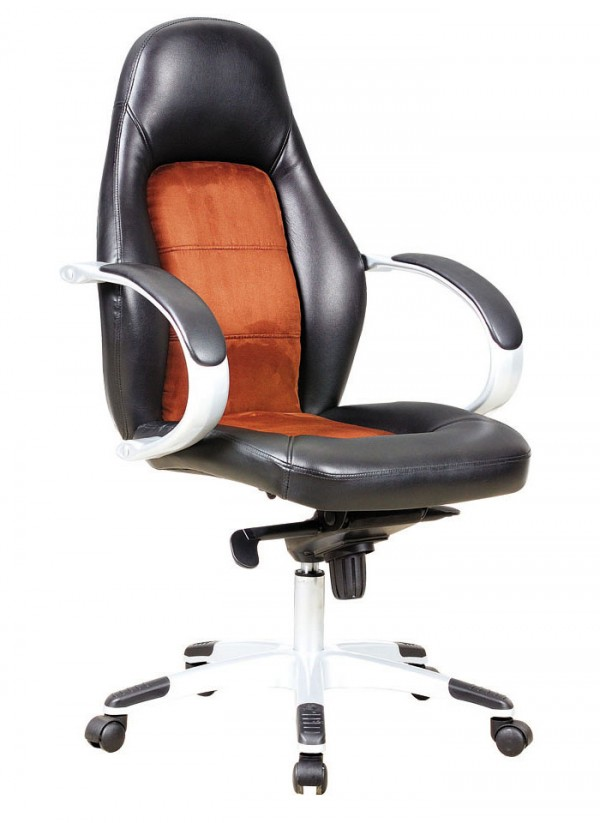 Pisarniški stol K-8896 (umetno usnje in tekstil)