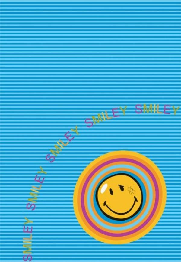 Preproga SITAP Smiley 8902 Blue (dimenzije: 100x150 in 140x200)