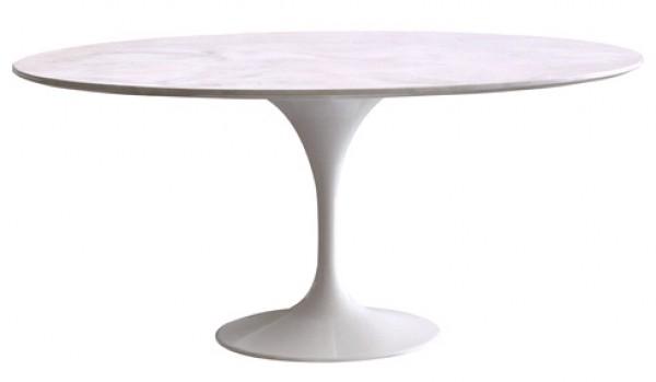 Podolgovata miza z marmorno ploščo RT335/V