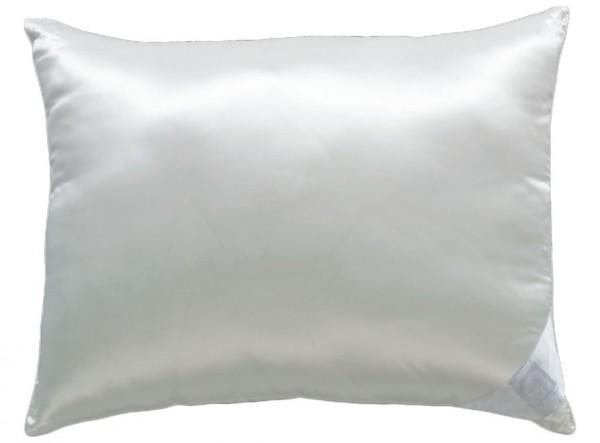 Svilen vzglavnik Silkfil Soft s polnilom iz poliestra