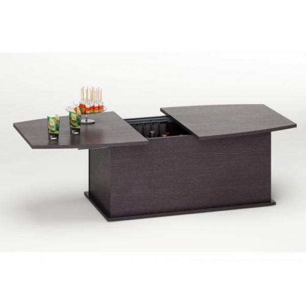 Klubska miza BOREA - wenge (slika je simbolična)