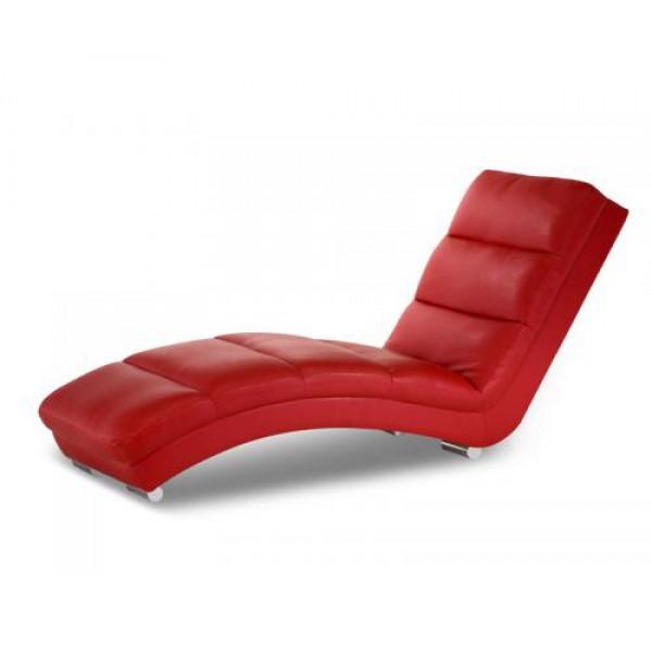 Fotelj ležalnik JUPPI - rdeč