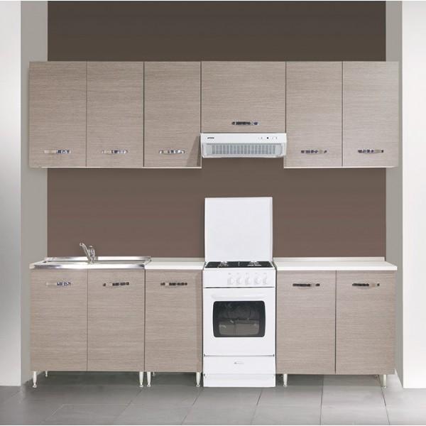 Komplet kuhinja Azur Line- larice grey, 250/260 cm - RAZPRODAJA