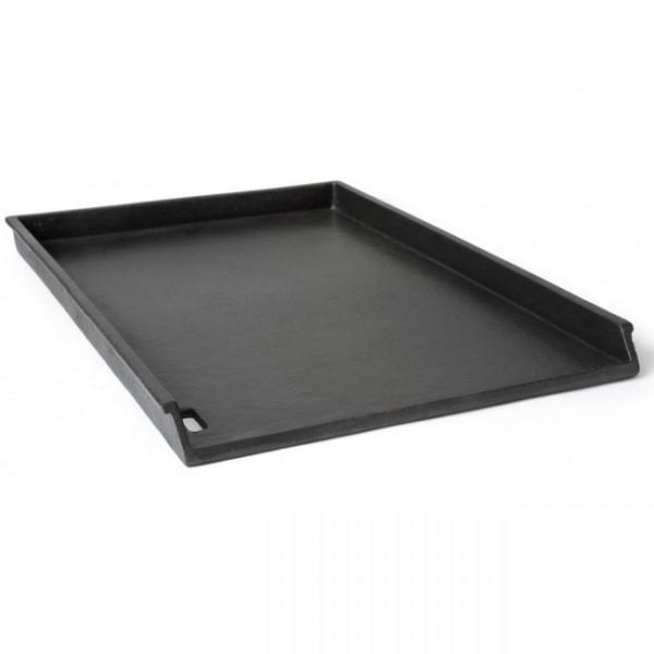 Litoželezna plošča z robom za žar 32x48 cm