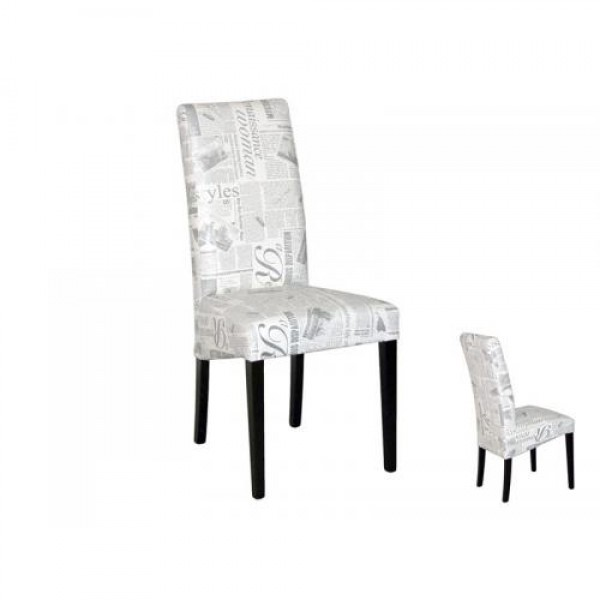 Jedilniški stol PARIS (wenge/črna)