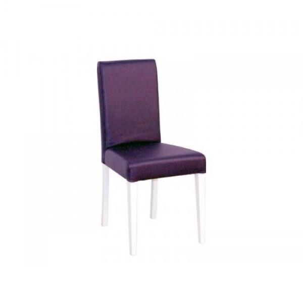 Stol SCALA (vijolično-bel)