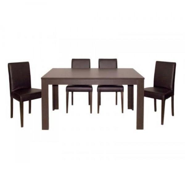 Jedilnica KIRA S (4 stoli + raztegljiva miza)