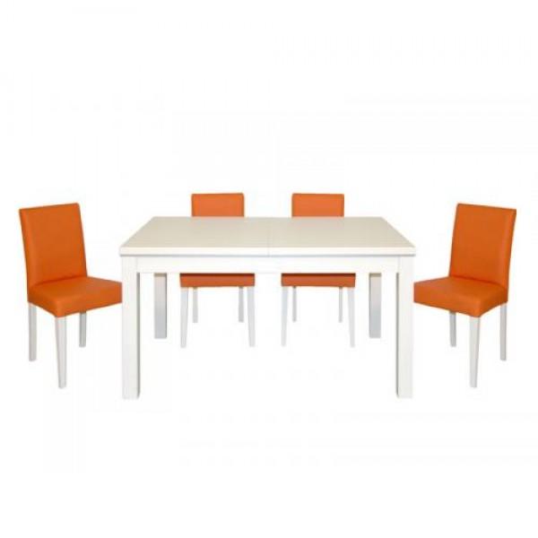 Jedilni set PORTO b/o (miza + 4 stoli)