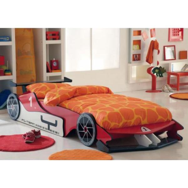 Postelja F1 s posteljnim podom