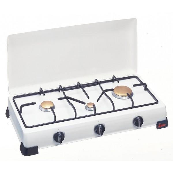 Namizni kuhalnik Gorenc, 3 plini, emajliran okvir