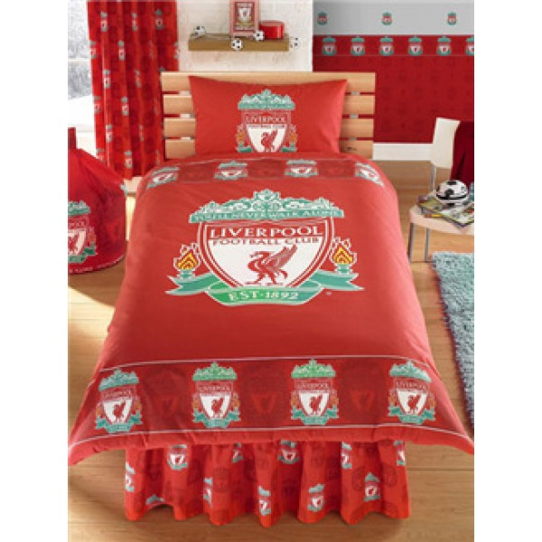 "Nogometna posteljnina FC Liverpool ""Stipple Single Duvet"""