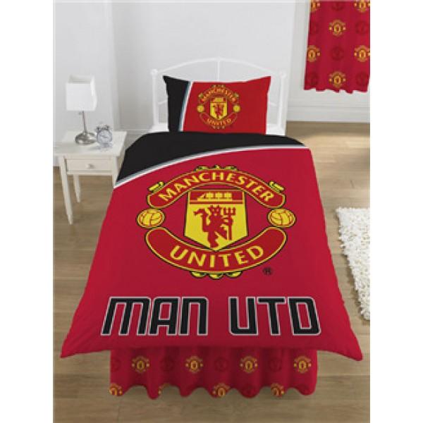 "Nogometna posteljnina FC Manchester United ""Motion Single Duvet"""