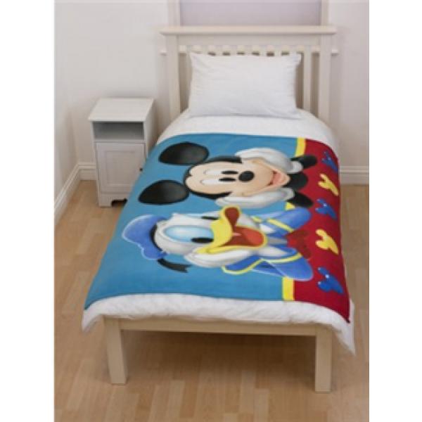 Otroška odeja Mickey Mouse 'Clubhouse Puzzled'