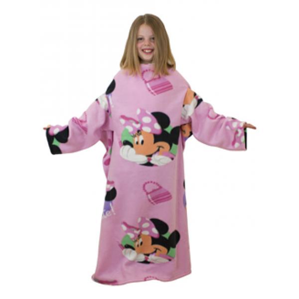 Otroška odeja z rokavi  Minnie Mouse 'Pretty'