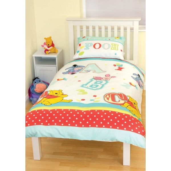 Otroška posteljnina Medvedek Pu 'Playground' Single