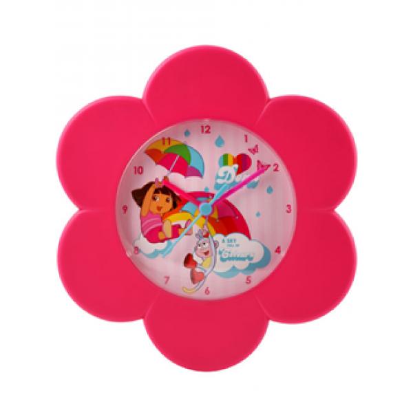 "Otroška stenska ura Dora the Explorer ""Flower"""