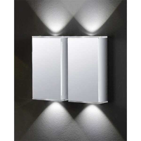 LED stenska svetilka Abida 91561