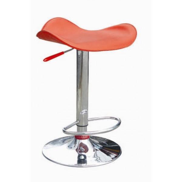 Barski stol Ema - rdeča