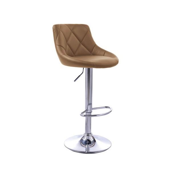 Barski stol Robin-Cappucino