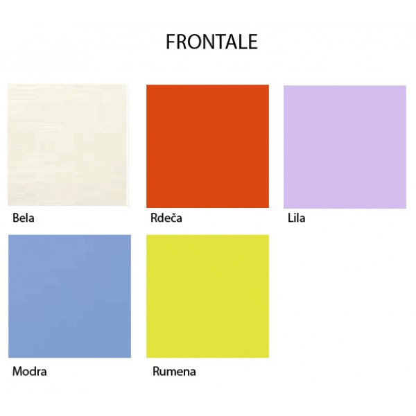 Možne barve frontalov