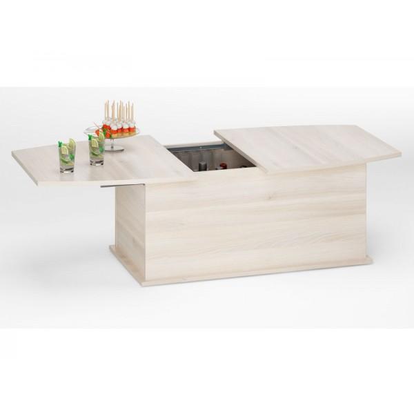 Klubska miza BOREA - akacija (slika je simbolična)
