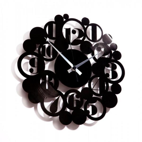 Stenska ura Disc'o'clock Bodoni Bubbles
