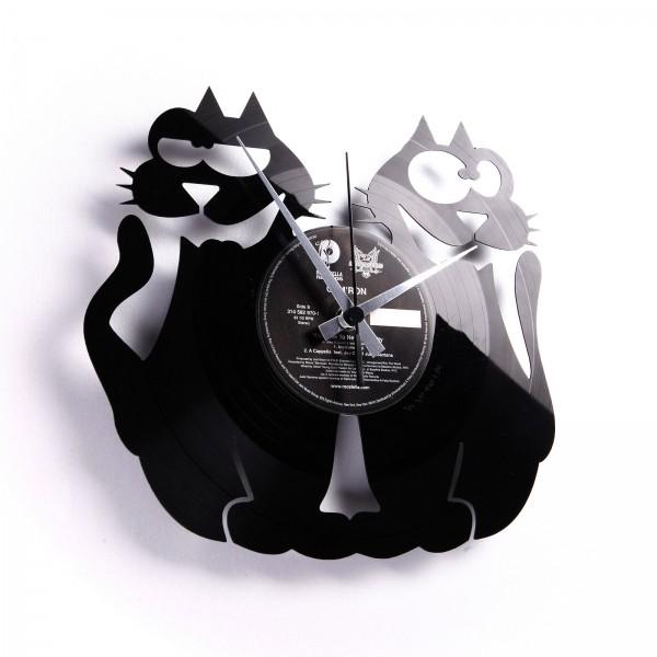 Stenska ura Disc'o'clock Cats!