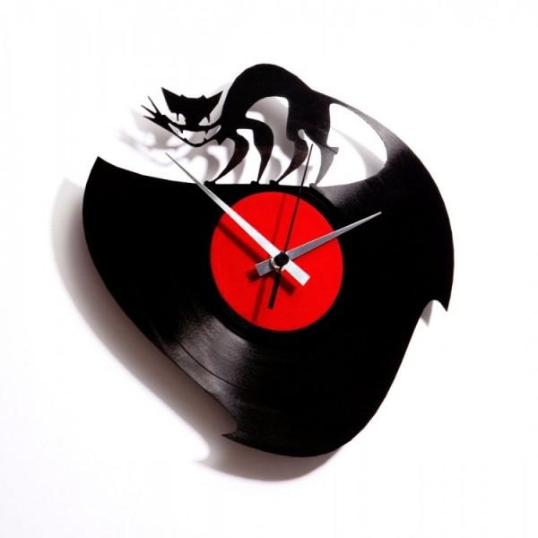 Stenska ura Disc'o'clock Curiosity Killed the cat