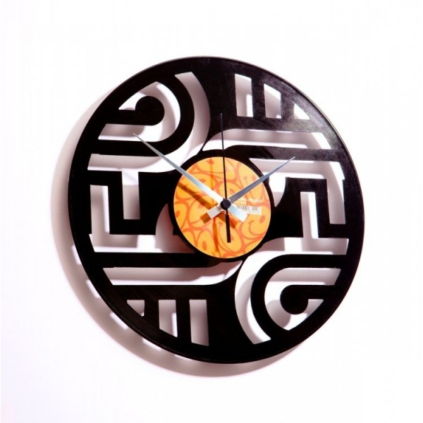 Stenska ura Disc'o'clock Geometry 1