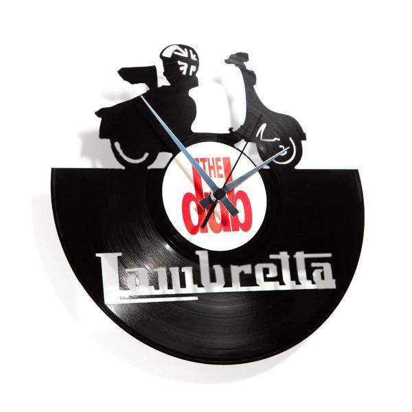 Stenska ura Disc'o'clock Lambretta