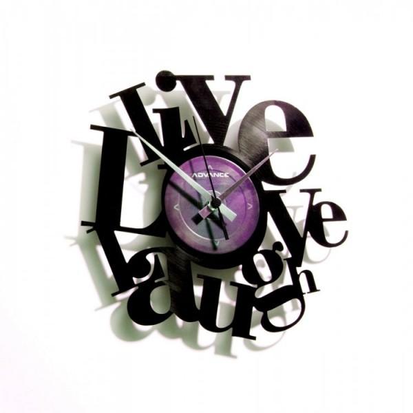 Stenska ura Disc'o'clock Live, Love, Laugh