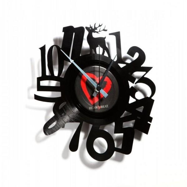 Stenska ura Disc'o'clock Numbers 1