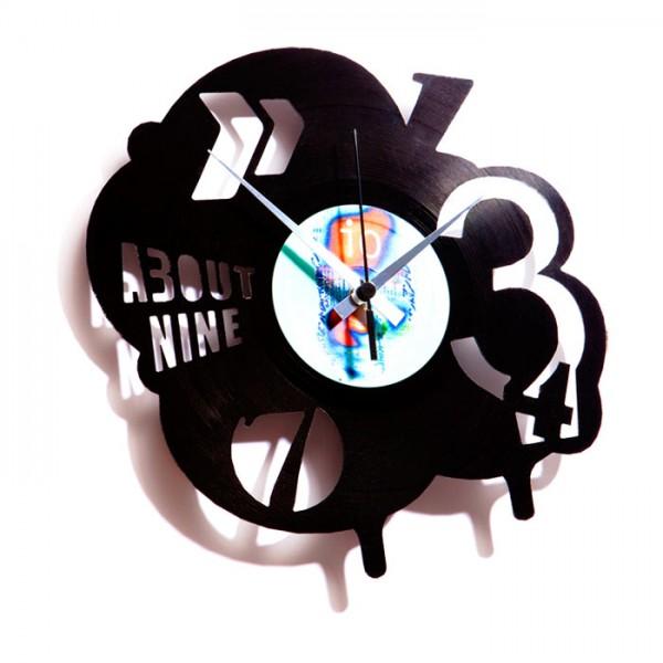 Stenska ura Disc'o'Clock POP