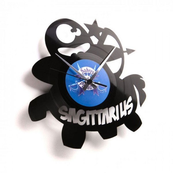 Stenska ura Disc'o'clock Sagittarius