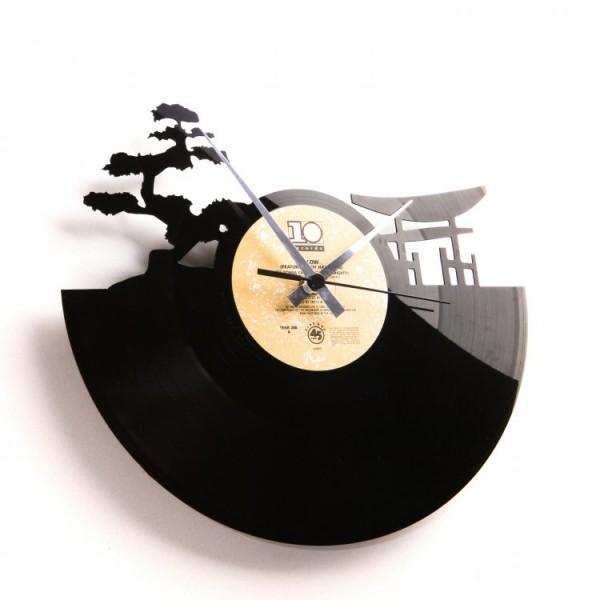 Stenska ura Disc'o'clock Sunset